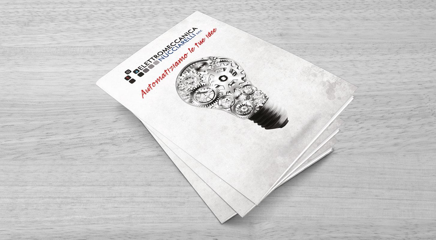 Copertina Brochure Elettromeccanica Nucciarelli