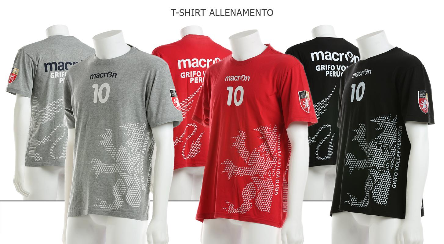 T-shirt allenamento Grifo Volley Perugia