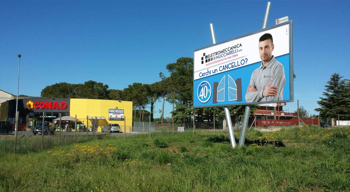 Elettromeccanica Nucciarelli - Affissione Aprile 2016