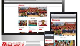 Città di Castello Pallavolo – web site