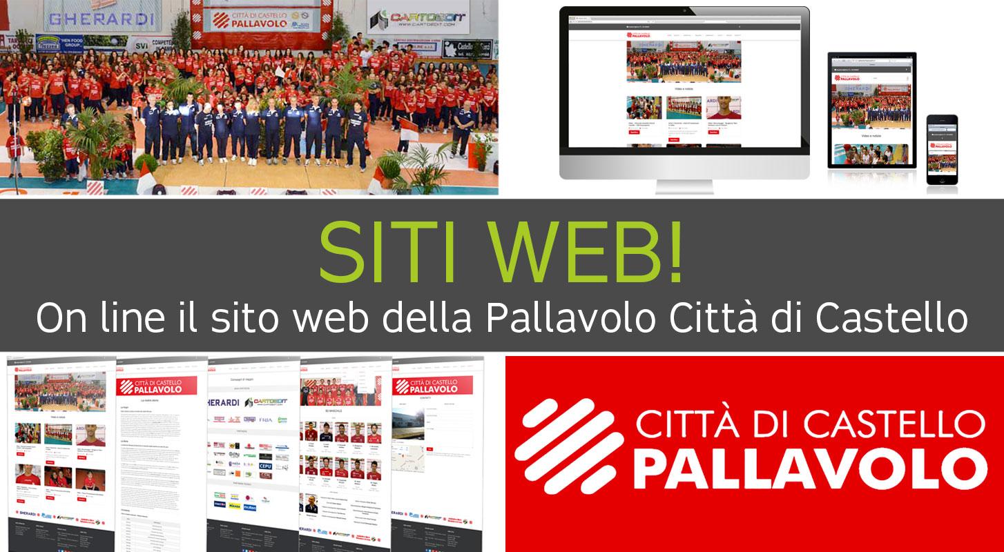 On line il sito web della Pallavolo Città di Castello